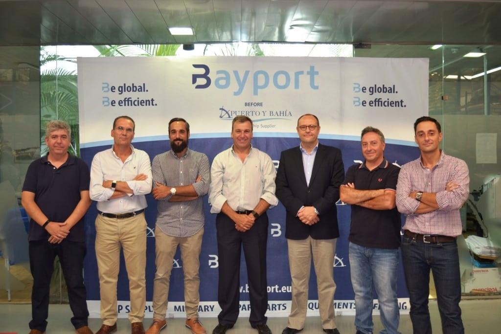 Presentación oficial de Bayport a los trabajadores