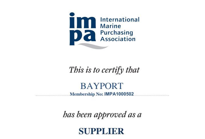 Bayport renueva como miembro de IMPA un año más.