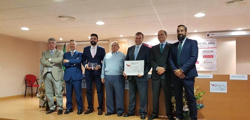 Bayport recibe el premio PYME del año en Cádiz.